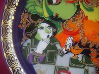 2x da TOP 1 Sammelteller Rosenthal  Wiinblad Aladin VII nummeriert