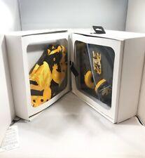 WESC Crayfish Bongo On Ear Headphones Yellow Brown Unisex Turkish Coffee BNIB