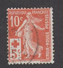 France -Timbres oblitérés - Semeuse - Croix rouge - N°147 - TB