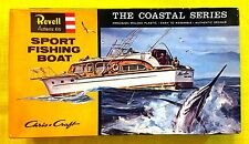 REVELL Kit No. H387-100, Chris Craft SPORT FISHING BOAT, MIB, 100% Complete,1996
