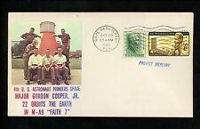 al History Espacio Mercury Faith 7 NASA Misil Launch Fecha 1963 FL