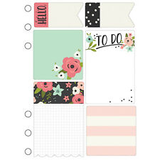 Carpe Diem BLOOM - A5 Planner STICKY NOTES - Simple Stories - fits A5 Filofax