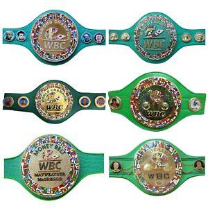 SH New WBC Boxing Belt Adult Size Leather Replica Design