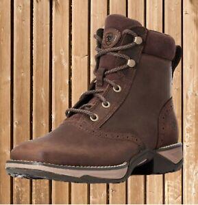 Ariat Women´s Anthem Lacer Boots, Stiefeletten, Western Boot, Stiefel, braun