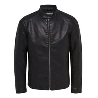 Only & Sons ONLY&SONS GIUBBETTO PELLE JAMES 22003120 Nero mod. 22003120