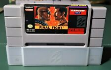 Final Fight SNES Super NES Nintendo Video Game 1991 Original Authentic 90s Retro