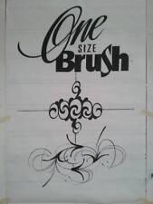 """Lettering / Outlining Brush # 0  """"Mack / Von Dago"""" ~ the Saber Liner"""