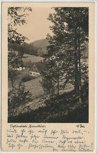 Ansichtskarte Vogtländische Heimatbilder - Im Landesgemeindetal - Haus 1936