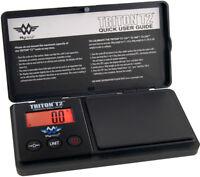 Feinwaage Taschenwaage MyWeigh Triton T2 550 x 0,1g Goldwaage schwarz digital