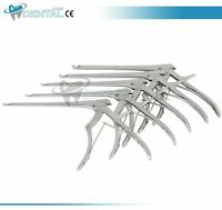 "Kerrison Rongeurs 7"" Set (1mm-5mm) 45* Up Bite Neuro, Spine Instruments"
