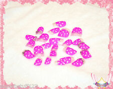 Starsire French Pink Rhinestone Pretty Japan Acrylic Fake 24 3D Shiny Full Nails