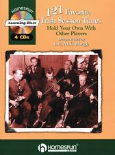 121 Favorite Irish Session Tunes Performed on Tinwhistle by L.E. McCul 000641454