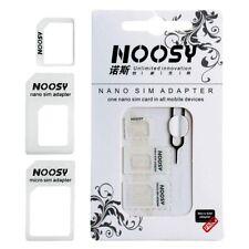 Adaptateur Convert Micro Nano SIM Carte et Ejecteur Noosy