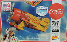 1930S GEE BEE COCA COLA RACER LINDBERG 1:32 SCALE PLASTIC MODEL AIRPLANE KIT
