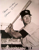 "Mickey Mantle ""The Commerce Comet"" Signed Autograph reprint 8x10"