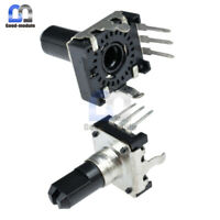 5PCS Lot Rotary encoder EC12 Audio digital potentiometer 15mm handle GM