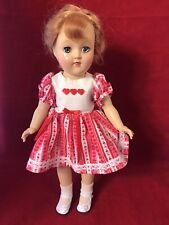 Vintage 1950's 14 Inch Ideal Toni Doll P-90