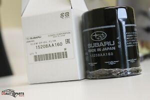 6 PACK, Genuine Subaru Engine Oil Filter 15208AA160 Impreza Legacy MADE IN JAPAN