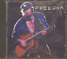 Neil Young FREEDOM 12 track CD 1989 POSTER-BOOKLET