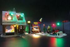 LED Lighting Kit for LEGO ® Winter Village Holiday Bakery 10216