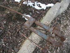 "Old Vintage Antique Post Vise 4 1/2"" jaws Black Smith"
