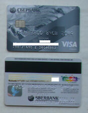 SBERBANK VISA RUSSIA CREDIT CARD USED EXPIRED FOR COLLECTION