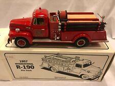 """First Gear 1957 International R-190 """"West Point FD"""" Fire Truck 19-1247 1/34 RARE"""