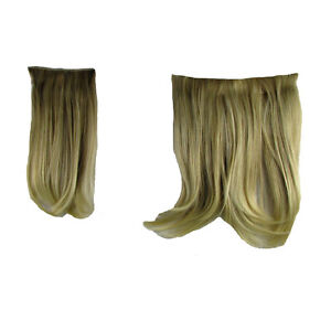 "Hair Extensions Clip In 2 Piece Ken Paves Hairdo Sandy Blonde Fashion 16"""