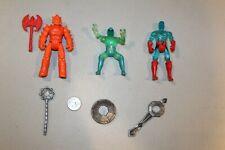 U PICK 1982 Saga of Crystar figure Dragon Rider Moltar prism shield staff Loose