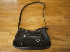ROLFS SMALL  LEATHER BROWN PURSE SHOULDER STRAP