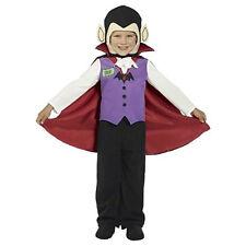 Mini Monsters Boy's Vampire Halloween Costume Toddler Size Small 1-2 NEW