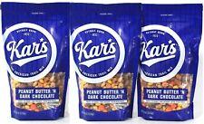(3) Kar's Peanut Butter N Dark Chocolate Gluten Free Trail Mix 18 Oz BB 2/21