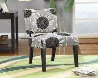 Admirable Coaster Cowhide Print Accent Chair In Black And White Gmtry Best Dining Table And Chair Ideas Images Gmtryco