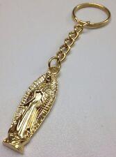 Llavero De La Virgen De Guadalupe Chapado de Oro Muy Religioso