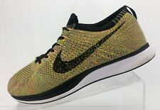 Nike Flyknit Racer Running Shoes Multicolor Cross Fitness Sneakers Mens Size 10
