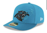 Carolina Panthers New Era Sideline Official Low Profile 59FIFTY Fitted Hat