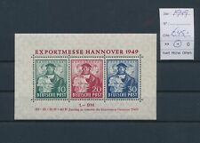LM70481 Germany 1949 Hannover messe good sheet MH cv 45 EUR