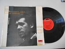 LP ethno Paco Ibanez-Poème de Federico Garcia Lorca (12 chanson) signifiant DALI ART