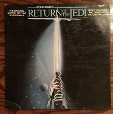 Star Wars Return of the Jedi Soundtrack LP Star Wars Poster Vinyl Album Record