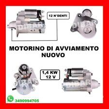 MOTORINO DI AVVIAMENTO NUOVO FORD FIESTA V 1.4 TDCI DAL 2001 KW50 CV68 F6JA F6JB