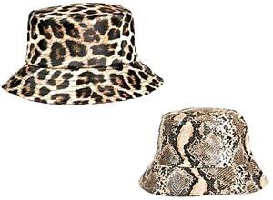 WOMENS LADIES LINED WATERPROOF FESTIVAL RAIN HOOD BUCKET HAT SHOWER HATS CAP