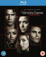 Vampire Diaries - Season 1-8 [2017] [Region Free] (Blu-ray)