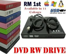 USB External DVD drive RW Writer DVD Disc Burner Reader Player For Laptop MAC
