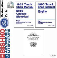1985 Ford Econoline Bronco F100 - F350 Pickup Shop Service Repair Manual CD OEM