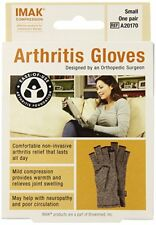 Imak Compression Arthritis Gloves Joint Support Gloves, Small (one pair)