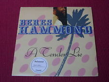Beres Hammond:  A tender lie    UK  NM   7""