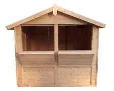 Marktstand Verkaufsstand Holzhütte NEU