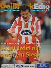 Programm 1995/96 1. FC Köln - Werder Bremen