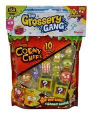 Simba 109291002 - The Grossery Gang - Sammelfiguren Corny Chips 10Er Pack - Neu