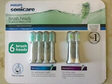 Genuine Philips Sonicare ProResults Electric Toothbrush Replacement Heads 6 Pack